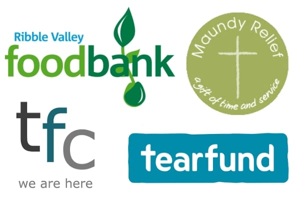 Charity logo montage